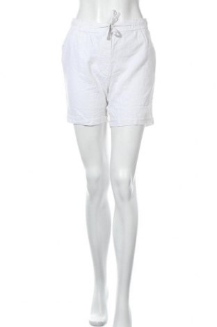 Дамски къс панталон Be You, Размер S, Цвят Бял, 55% лен, 5% вискоза, Цена 16,10лв.