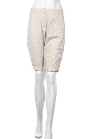 Γυναικείο κοντό παντελόνι Bexleys, Μέγεθος L, Χρώμα  Μπέζ, Βαμβάκι, Τιμή 3,64€