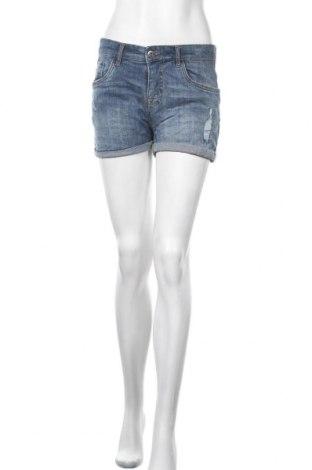 Γυναικείο κοντό παντελόνι Blue Motion, Μέγεθος M, Χρώμα Μπλέ, 98% βαμβάκι, 2% ελαστάνη, Τιμή 10,39€