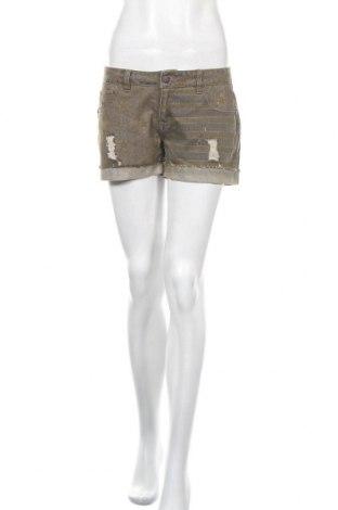 Дамски къс панталон Brandit, Размер M, Цвят Кафяв, Памук, Цена 13,23лв.