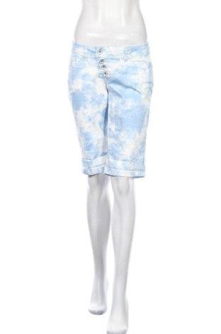 Γυναικείο κοντό παντελόνι Buena Vista, Μέγεθος M, Χρώμα Λευκό, 98% βαμβάκι, 2% ελαστάνη, Τιμή 10,83€