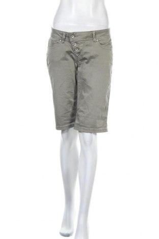 Γυναικείο κοντό παντελόνι Buena Vista, Μέγεθος S, Χρώμα Πράσινο, 98% βαμβάκι, 2% ελαστάνη, Τιμή 10,83€