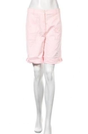 Γυναικείο κοντό παντελόνι Canda, Μέγεθος M, Χρώμα Ρόζ , 97% βαμβάκι, 3% ελαστάνη, Τιμή 3,41€