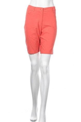 Γυναικείο κοντό παντελόνι Charles Vogele, Μέγεθος L, Χρώμα Κόκκινο, 70% βισκόζη, 26% πολυαμίδη, 4% ελαστάνη, Τιμή 9,94€