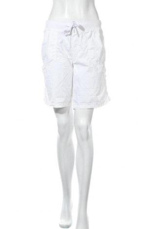 Γυναικείο κοντό παντελόνι Chicoree, Μέγεθος L, Χρώμα Λευκό, Βαμβάκι, Τιμή 3,86€