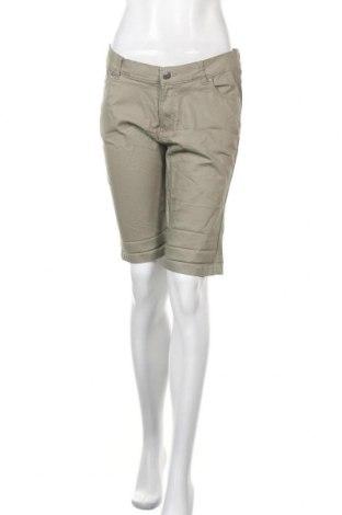 Γυναικείο κοντό παντελόνι Chicoree, Μέγεθος L, Χρώμα Γκρί, 73% βαμβάκι, 25% πολυεστέρας, 2% ελαστάνη, Τιμή 9,25€