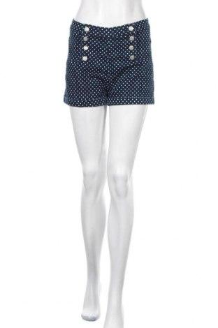 Дамски къс панталон Chico's, Размер S, Цвят Син, 73% памук, 25% полиестер, 2% еластан, Цена 37,91лв.