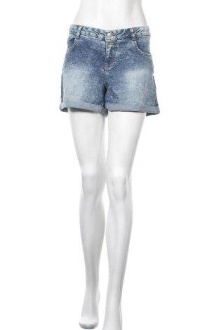 Γυναικείο κοντό παντελόνι Clockhouse, Μέγεθος XL, Χρώμα Μπλέ, 78% βαμβάκι, 20% πολυεστέρας, 2% ελαστάνη, Τιμή 10,49€
