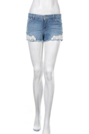 Γυναικείο κοντό παντελόνι Clockhouse, Μέγεθος S, Χρώμα Μπλέ, 98% βαμβάκι, 2% ελαστάνη, Τιμή 5,71€