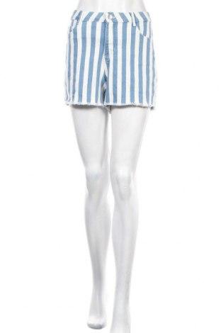 Γυναικείο κοντό παντελόνι Clockhouse, Μέγεθος L, Χρώμα Μπλέ, 84% βαμβάκι, 15% πολυεστέρας, 1% ελαστάνη, Τιμή 4,09€