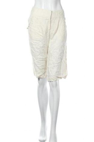 Γυναικείο κοντό παντελόνι Concept, Μέγεθος M, Χρώμα Εκρού, Λινό, Τιμή 5,91€