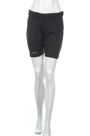 Γυναικείο κοντό παντελόνι Craft, Μέγεθος XL, Χρώμα Μαύρο, 93% πολυεστέρας, 7% ελαστάνη, Τιμή 3,86€
