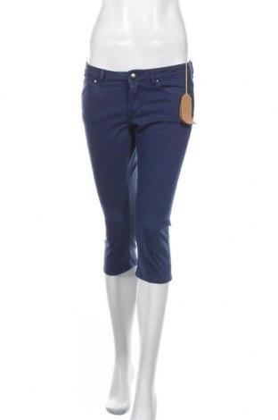 Γυναικείο κοντό παντελόνι Edc By Esprit, Μέγεθος S, Χρώμα Μπλέ, 79% βαμβάκι, 19% βισκόζη, 2% ελαστάνη, Τιμή 10,46€