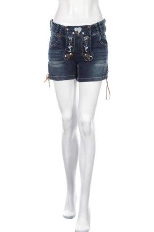 Γυναικείο κοντό παντελόνι Esmara, Μέγεθος M, Χρώμα Μπλέ, 98% βαμβάκι, 2% ελαστάνη, Τιμή 18,70€