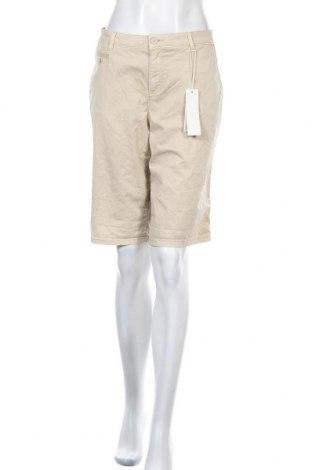 Γυναικείο κοντό παντελόνι Esprit, Μέγεθος L, Χρώμα  Μπέζ, 97% βαμβάκι, 3% ελαστάνη, Τιμή 25,97€