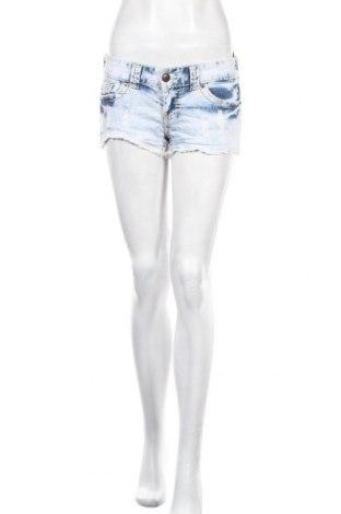 Γυναικείο κοντό παντελόνι Fb Sister, Μέγεθος S, Χρώμα Μπλέ, 99% βαμβάκι, 1% ελαστάνη, Τιμή 3,90€