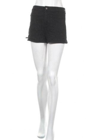 Γυναικείο κοντό παντελόνι Forever 21, Μέγεθος M, Χρώμα Μαύρο, 81% βαμβάκι, 18% πολυεστέρας, 1% ελαστάνη, Τιμή 7,17€