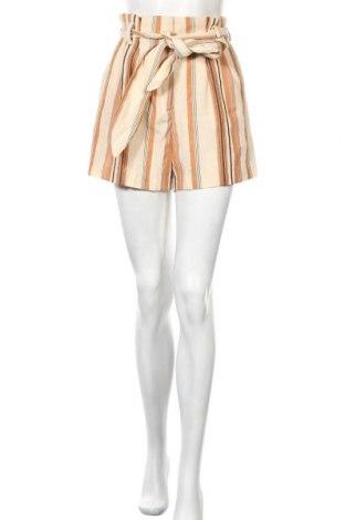 Γυναικείο κοντό παντελόνι H&M, Μέγεθος S, Χρώμα Πολύχρωμο, 56% βισκόζη, 26% πολυεστέρας, 18% πολυαμίδη, Τιμή 11,78€