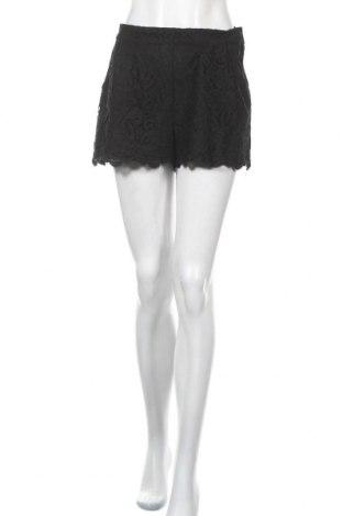 Γυναικείο κοντό παντελόνι H&M, Μέγεθος M, Χρώμα Μαύρο, 68% βαμβάκι, 32% πολυαμίδη, Τιμή 3,18€
