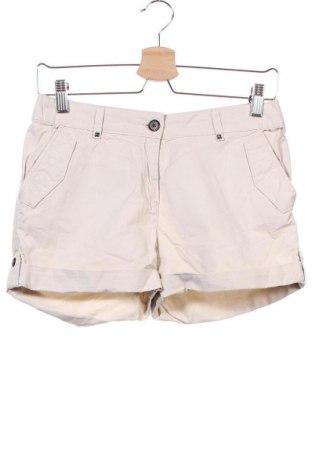 Γυναικείο κοντό παντελόνι H&M, Μέγεθος XS, Χρώμα  Μπέζ, Βαμβάκι, Τιμή 10,23€