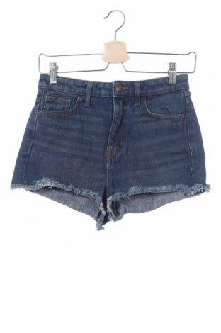 Γυναικείο κοντό παντελόνι H&M, Μέγεθος XS, Χρώμα Μπλέ, Τιμή 11,11€