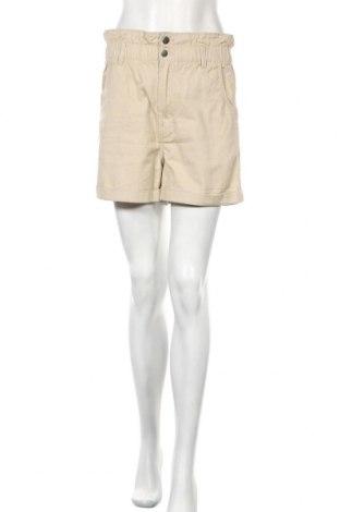 Γυναικείο κοντό παντελόνι H&M, Μέγεθος S, Χρώμα  Μπέζ, Βαμβάκι, Τιμή 13,46€
