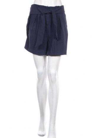 Γυναικείο κοντό παντελόνι H&M, Μέγεθος L, Χρώμα Μπλέ, Πολυεστέρας, Τιμή 6,24€