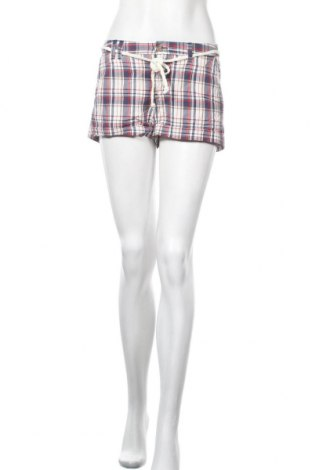 Дамски къс панталон H&M L.O.G.G., Размер M, Цвят Сив, Памук, Цена 10,08лв.