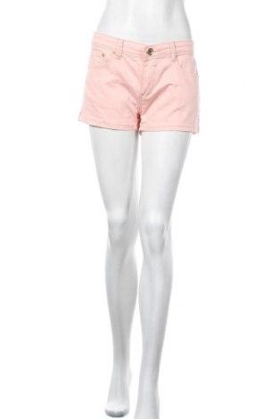 Γυναικείο κοντό παντελόνι Hydee by Chicoree, Μέγεθος L, Χρώμα Ρόζ , 98% βαμβάκι, 2% ελαστάνη, Τιμή 5,46€