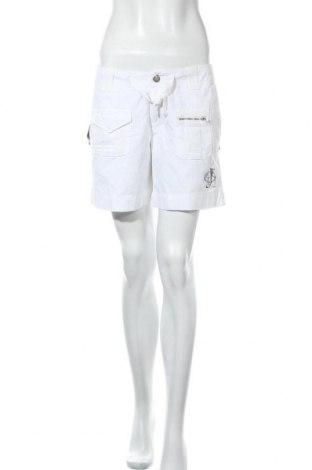 Γυναικείο κοντό παντελόνι Jacky-O, Μέγεθος M, Χρώμα Λευκό, Βαμβάκι, Τιμή 5,46€
