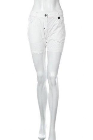 Дамски къс панталон Kjus, Размер M, Цвят Бял, 95% полиамид, 5% еластан, Цена 31,80лв.