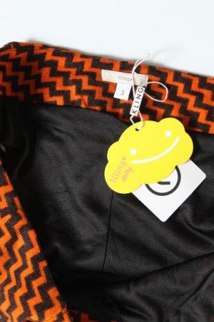 Дамски къс панталон Kling, Размер M, Цвят Оранжев, Полиестер, Цена 34,50лв.