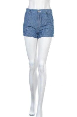 Γυναικείο κοντό παντελόνι Levi's, Μέγεθος XS, Χρώμα Μπλέ, 60% βαμβάκι, 40% λινό, Τιμή 10,00€