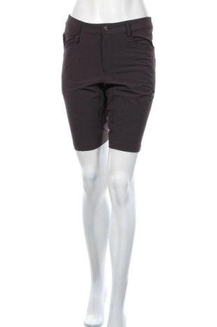 Дамски къс панталон Mammut, Размер XL, Цвят Кафяв, 94% полиестер, 6% еластан, Цена 27,93лв.