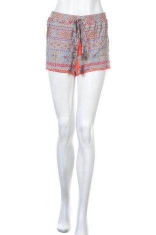 Γυναικείο κοντό παντελόνι My Hailys, Μέγεθος L, Χρώμα Πολύχρωμο, Βισκόζη, Τιμή 4,09€