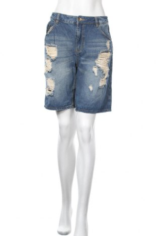 Γυναικείο κοντό παντελόνι No Name, Μέγεθος L, Χρώμα Μπλέ, Βαμβάκι, Τιμή 11,72€