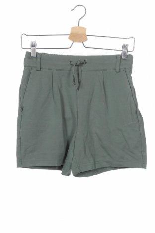 Γυναικείο κοντό παντελόνι ONLY, Μέγεθος XS, Χρώμα Πράσινο, 63% βισκόζη, 32% πολυαμίδη, 5% ελαστάνη, Τιμή 14,29€