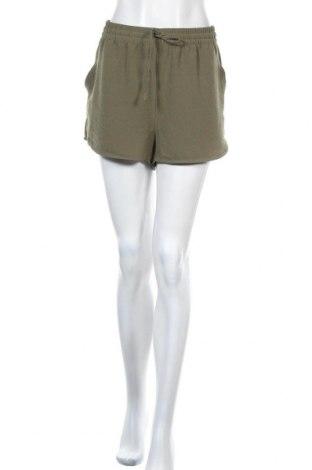 Γυναικείο κοντό παντελόνι ONLY, Μέγεθος L, Χρώμα Πράσινο, 97% πολυεστέρας, 3% ελαστάνη, Τιμή 16,42€