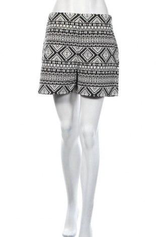 Γυναικείο κοντό παντελόνι Orsay, Μέγεθος L, Χρώμα Μαύρο, 57% βαμβάκι, 42% πολυεστέρας, 1% μεταλλικά νήματα, Τιμή 5,46€