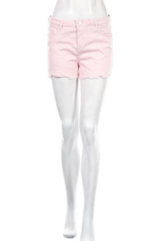 Дамски къс панталон Oviesse, Размер M, Цвят Розов, 68% лиосел, 23% памук, 7% полиестер, 2% еластан, Цена 20,79лв.