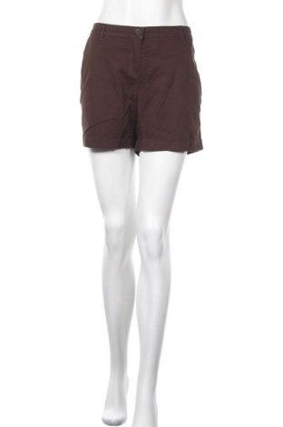 Γυναικείο κοντό παντελόνι Promod, Μέγεθος L, Χρώμα Καφέ, Τιμή 3,64€