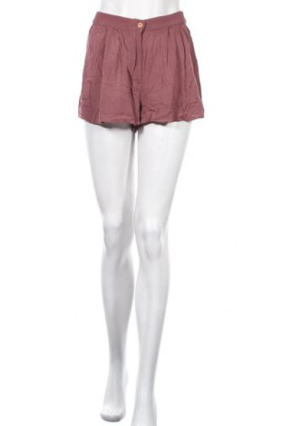 Γυναικείο κοντό παντελόνι Pull&Bear, Μέγεθος XXS, Χρώμα Ρόζ , Τιμή 9,35€