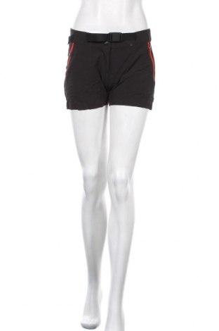 Дамски къс панталон Quechua, Размер S, Цвят Черен, 85% полиестер, 15% еластан, Цена 14,28лв.