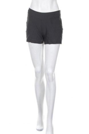 Дамски къс панталон Quechua, Размер S, Цвят Сив, 95% полиамид, 5% еластан, Цена 17,64лв.