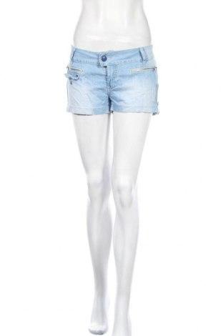 Γυναικείο κοντό παντελόνι Reals Jeans, Μέγεθος XL, Χρώμα Μπλέ, 95% βαμβάκι, 5% ελαστάνη, Τιμή 8,28€