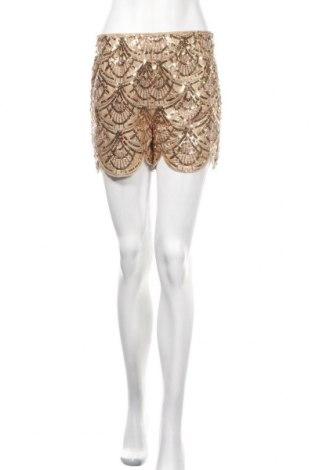 Γυναικείο κοντό παντελόνι School Rag, Μέγεθος S, Χρώμα  Μπέζ, Πολυεστέρας, Τιμή 15,59€