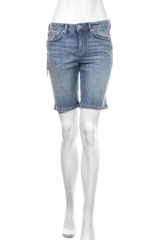 Γυναικείο κοντό παντελόνι Tom Tailor, Μέγεθος S, Χρώμα Μπλέ, Τιμή 19,77€