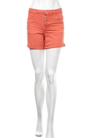 Γυναικείο κοντό παντελόνι Tom Tailor, Μέγεθος M, Χρώμα Κόκκινο, Τιμή 19,16€