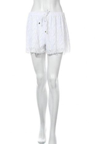 Γυναικείο κοντό παντελόνι Tu, Μέγεθος L, Χρώμα Λευκό, 92% πολυεστέρας, 8% ελαστάνη, Τιμή 9,94€