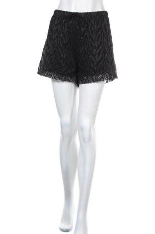 Γυναικείο κοντό παντελόνι Tu, Μέγεθος XL, Χρώμα Μαύρο, 92% πολυεστέρας, 8% ελαστάνη, Τιμή 5,91€